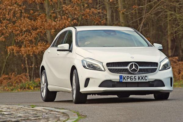 Mercedes A Class UK July 2016