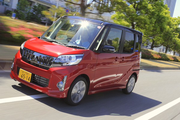 Mitsubishi eK Japan July 2016