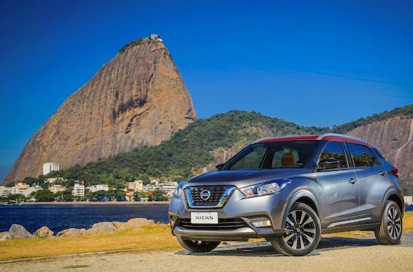 Nissan Kicks Brazil July 2016