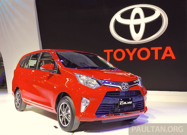 Toyota Calya Indonesia July 2016. Picture courtesy paultan.org