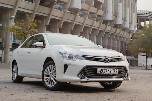 Toyota Camry Kazakhstan September 2016