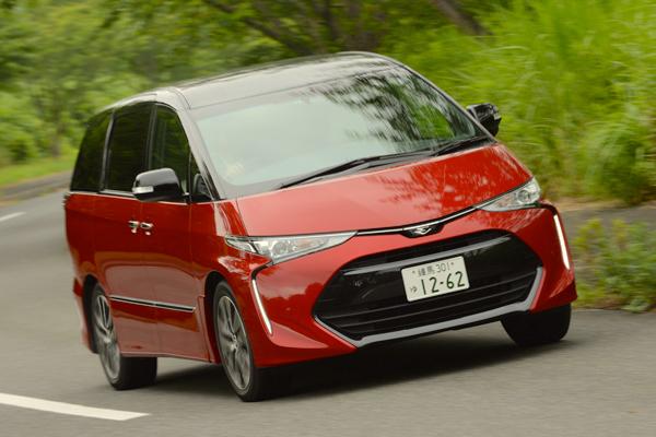 Toyota Estima Japan July 2016. Picture Courtesy Autoc One.jp