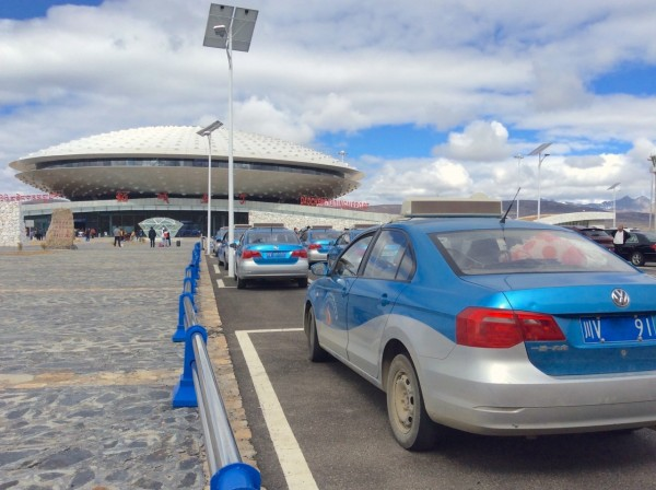 VW Jetta Daocheng Yading Airport