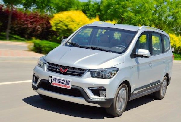 Wuling Hongguang SI China July 2016. Picture courtesy autohome.com.cn