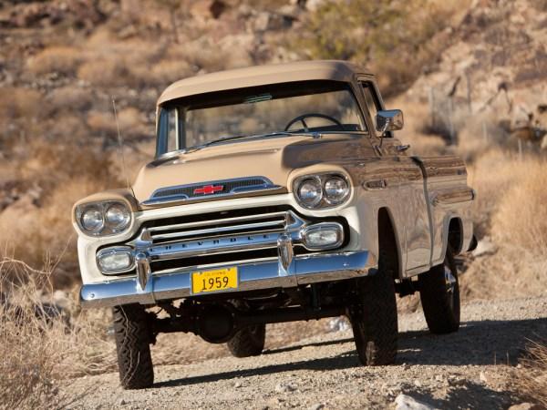1959 Chevrolet-NAPCO Apache 31 Deluxe Fleetside Pickup truck