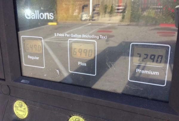 Big Sur Petrol Prices