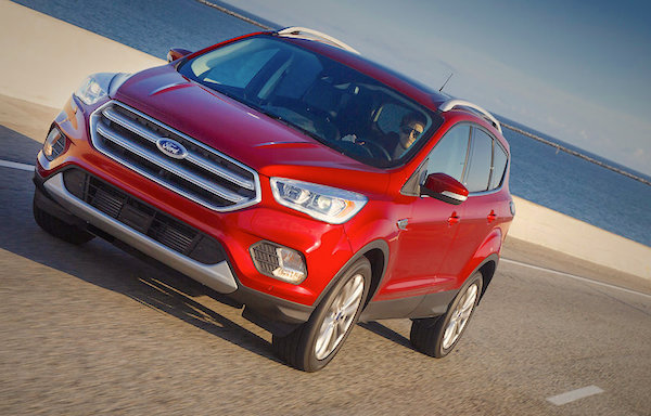 Ford Kuga UK August 2016