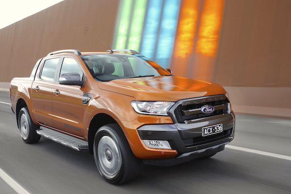 Ford Ranger Australia August 2016. Picture courtesy caradvice.com.au