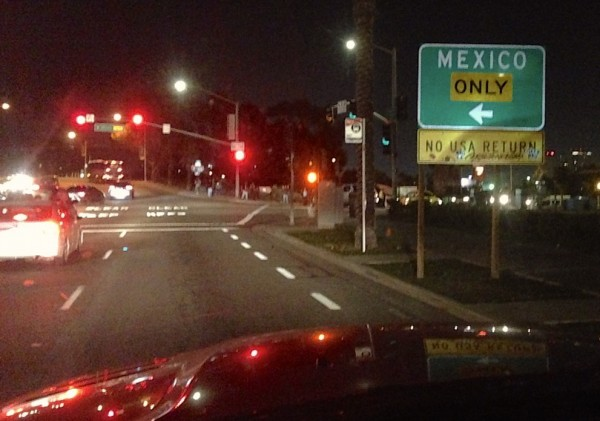 Mexico border San Ysidro CA