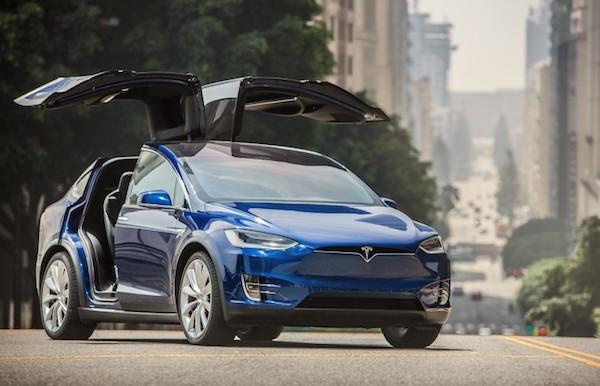 Tesla Model X USA August 2016. Picture courtesy caranddriver.com