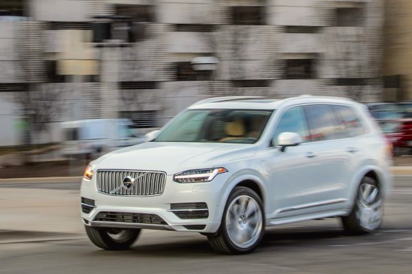 Volvo XC90 USA August 2016. Picture courtesy caranddriver.com