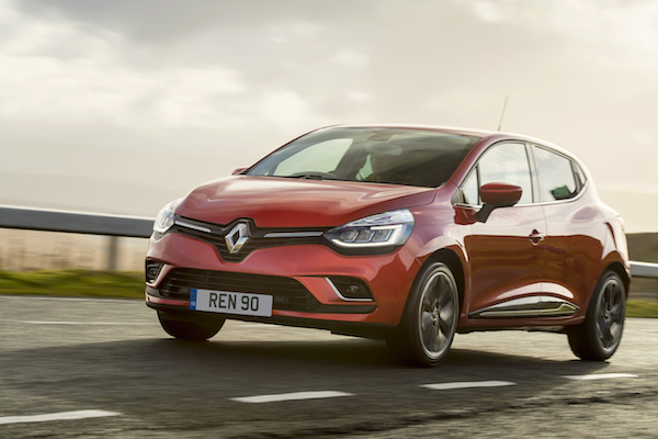 Renault Clio Italy December 2016