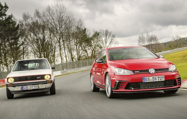 VW Golf Austria 2016. Picture courtesy autobild.de