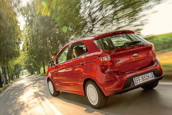 First Top  Ranking In Italy For The Ford Ka