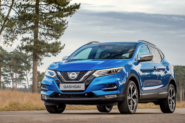 Best selling cars blog which cars are the best sellers in your the nissan qashqai tops the danish sales charts for the first time sciox Image collections