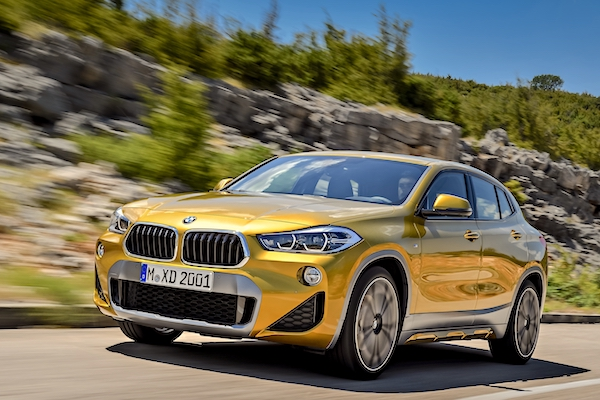 The BMW X2 Makes Its First Appearance In The European Sales Charts In  Novemberu2026
