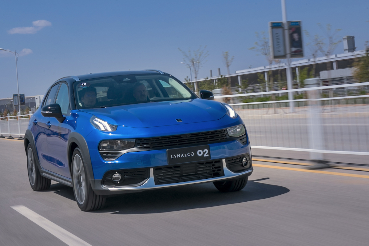 China 2018 Test Drives: Lynk & Co 02