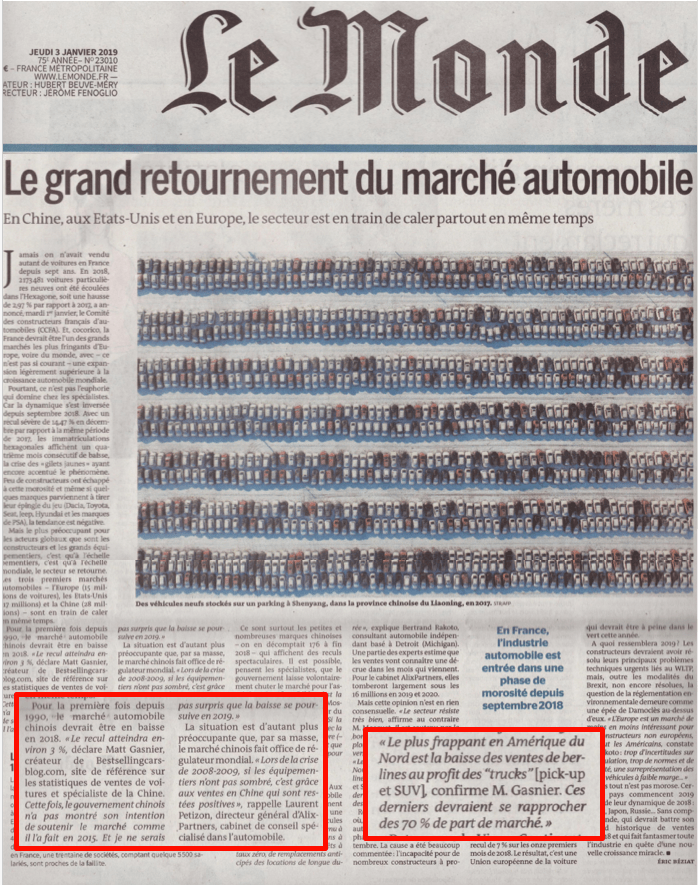 BSCB featured in prestigious French newspaper Le Monde – Best