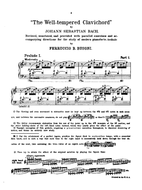 best edition bach prelude and fugues