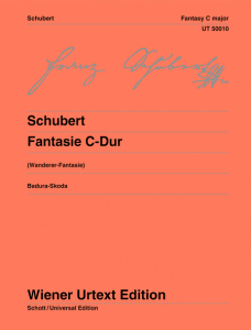 best edition for schubert