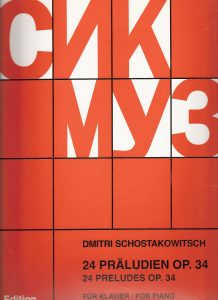 best sheet music editions classical shostakovich