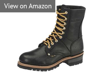 AdTec Men's 9-Inch Logger Boot