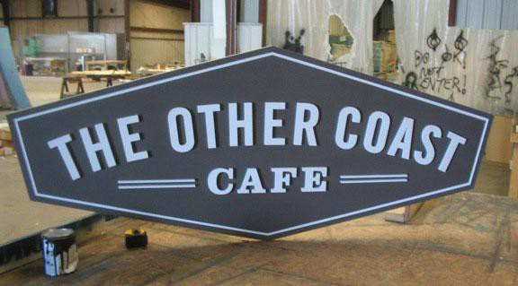 Custom Business Signs Other Coast Cafe