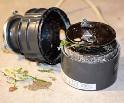 how to fix a garbage disposal that is