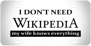 I dont Need Wikipedia
