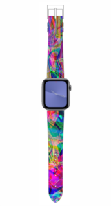 Custom Apple WATCH Band Rainbow Design #1