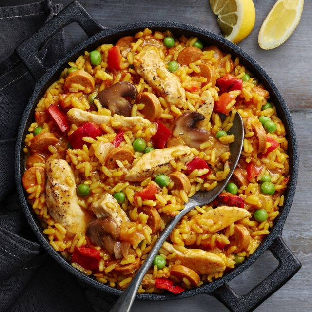 SW recipe: Chicken paella