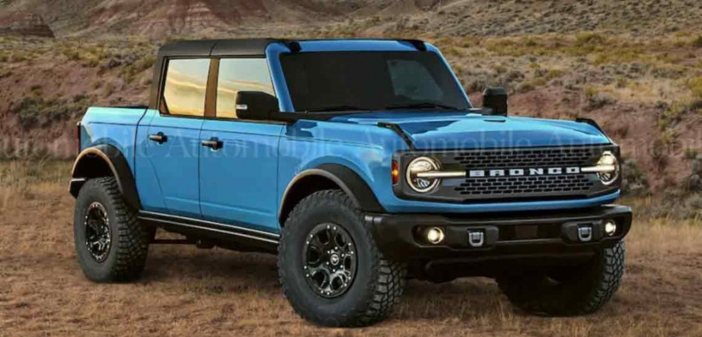 2024 Ford Bronco Pickup Truck Images