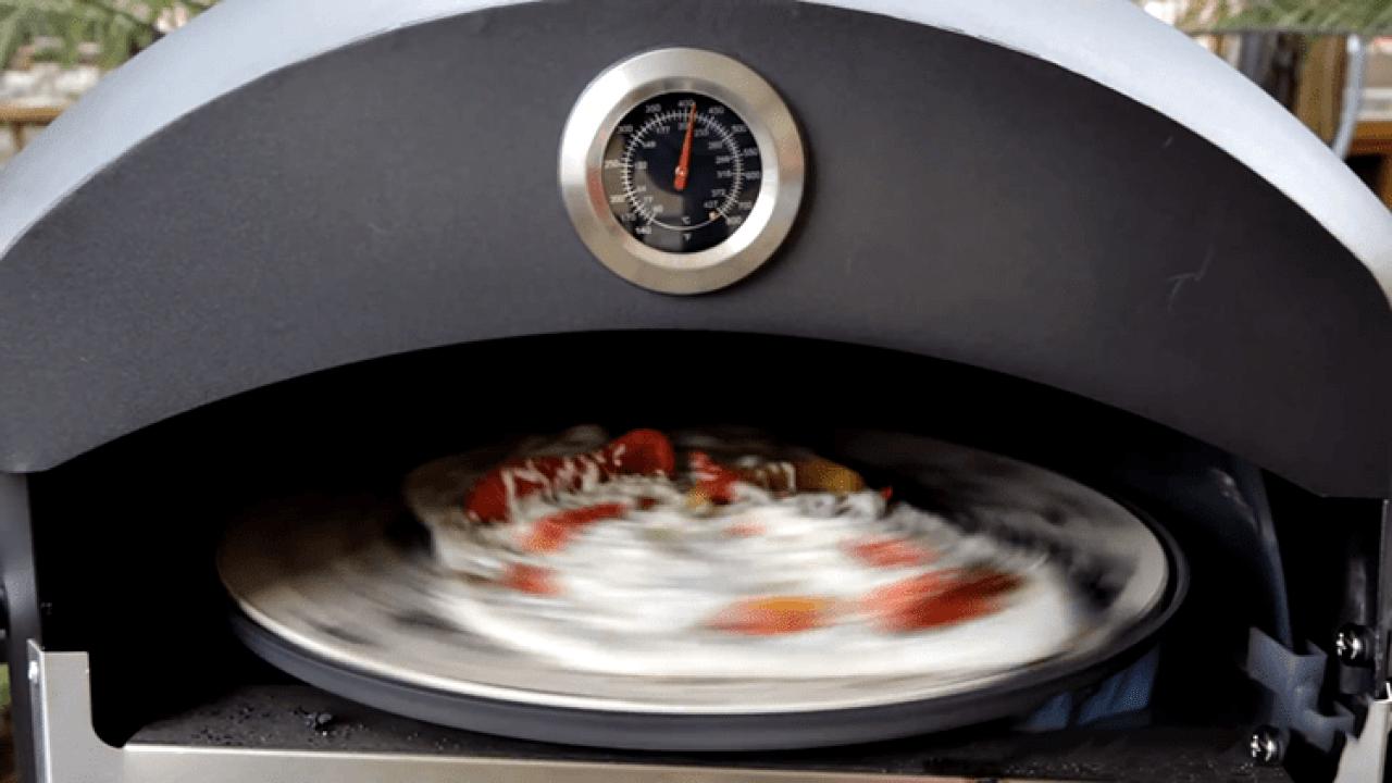 blackstone outdoor propane pizza oven