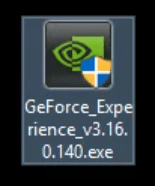 GeForce experience .exe file