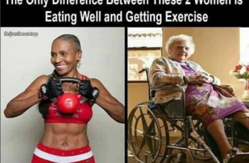 The Choice is Yours Both Of These Women Are 74 Years Old