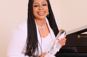 WAYMAKER wins 2021 BMI Christian Award Song of the Year - Sinach