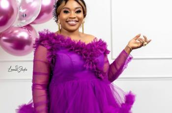El' Grace stunning birthday pictures 3