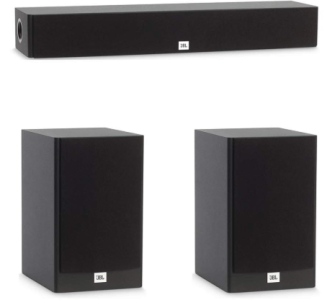 JBL 3.0 System with 2 JBL Stage A130 Bookshelf Speakers