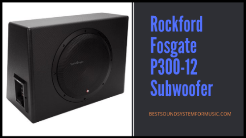 Best Car Powered Subwoofer