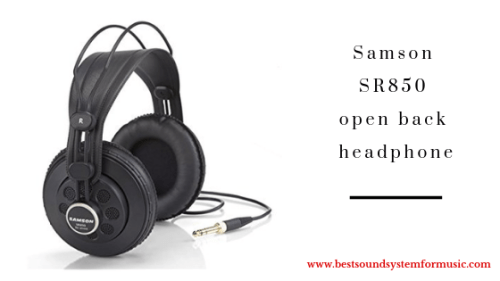 Samson SR850 open back headphones