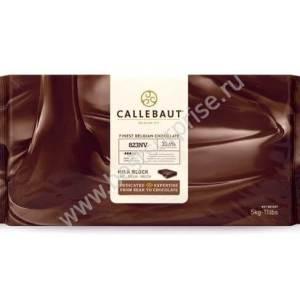 Молочный бельгийский шоколад 33.6% Barry Callebaut в блоке 5 кг.
