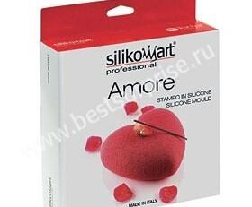 Силиконовая форма Amore (Сердце), (Silikomart / Италия)