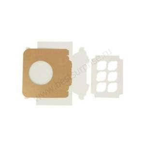 Упаковка для капкейков и маффинов (6 мест), 10 шт. (250x170x100 мм.)