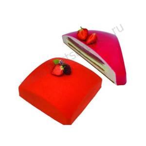 Силиконовая форма для торта Квадратный шар (Square Sphere), Silikomart (Италия)