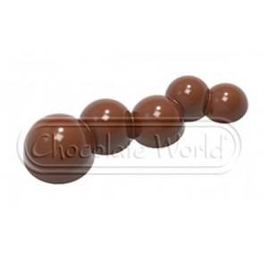 Поликарбонатная форма для конфет CW1883, Chocolate World