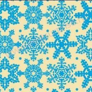 """Переводной лист для шоколада """"Снежинки синие"""", 1 шт. Martellato"""