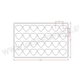 Поликарбонатная форма для шоколада IM380