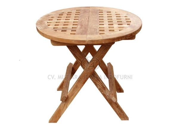 Round Picnic Table With Hole