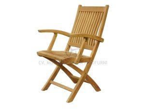 Kiffa Folding Arm Chair