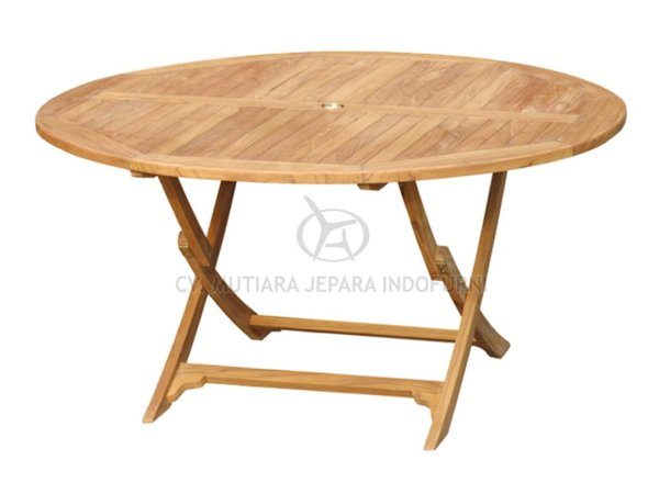 Round Easy Fold Table 150CM